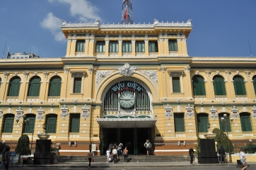 La Poste Centrale - héritage architecturale de la période coloniale française